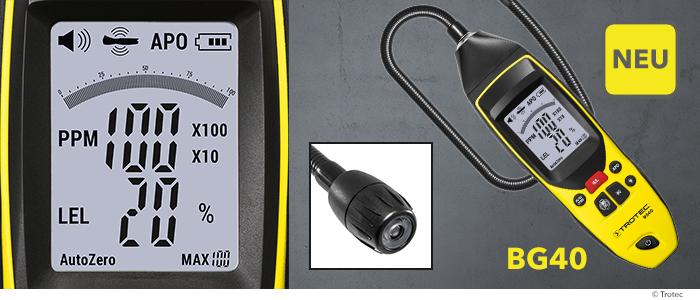 Gasdetektor BG40