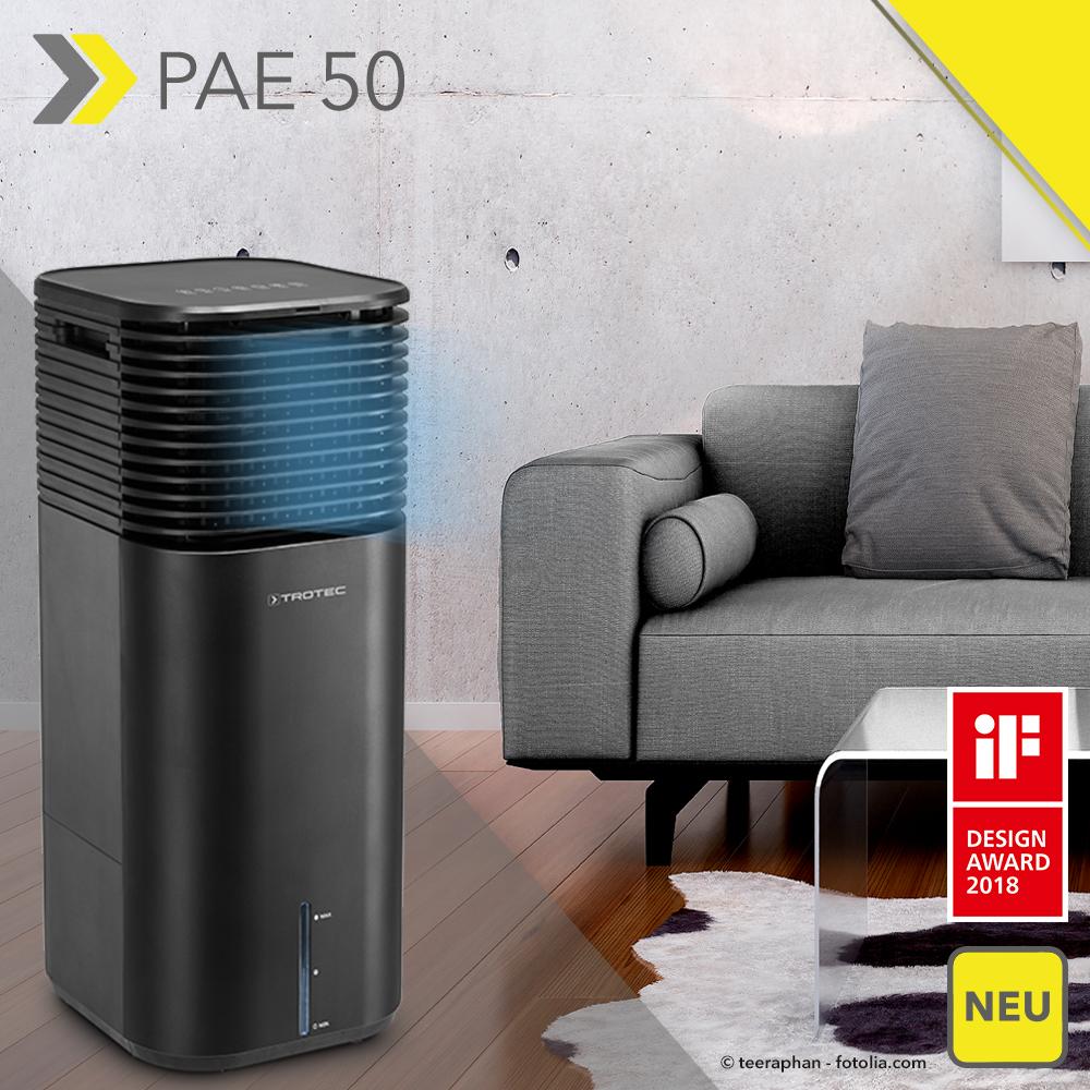 Genial Luft Befeuchten Beste Wahl Der Neue Aircooler Pae 50 Von Trotec