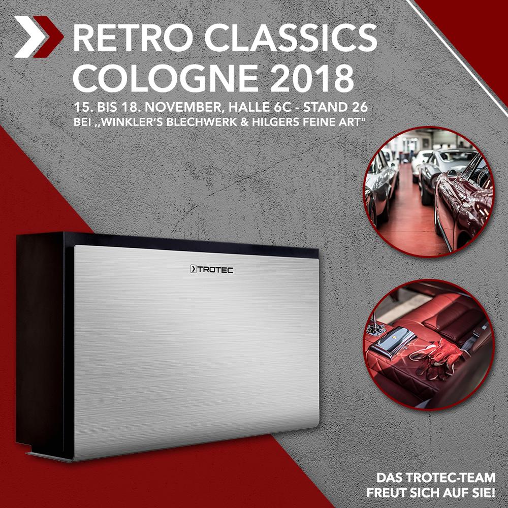RETRO CLASSICS COLOGNE – Trotec präsentiert perfektes ...