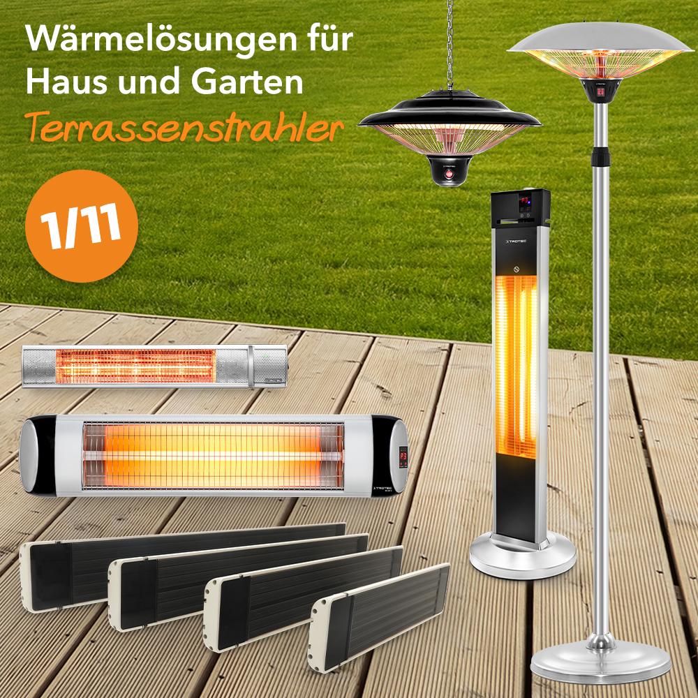 Genießen Sie Terrasse oder Balkon auch an kühlen Tagen – mit ...