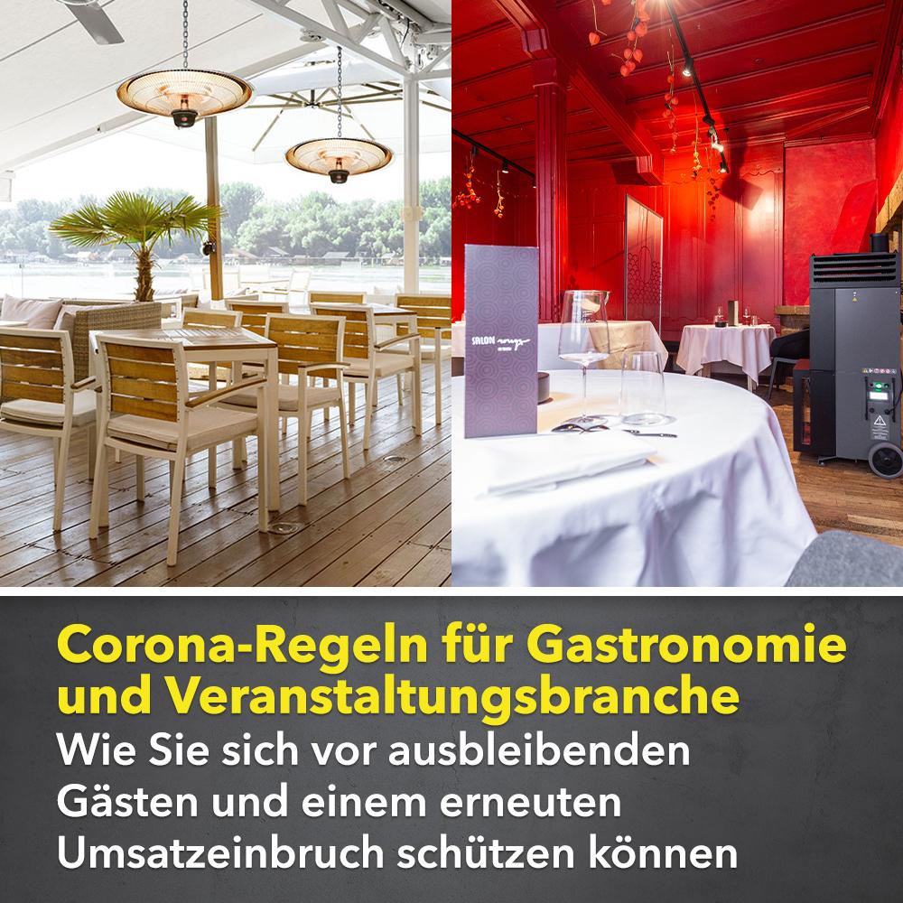Corona Regeln für Gastronomie und Veranstaltungsbranche. Wie Sie ...